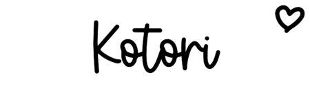 About the baby nameKotori, at Click Baby Names.com