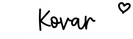 About the baby name Kovar, at Click Baby Names.com