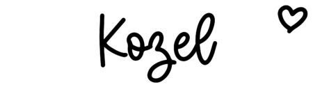 About the baby name Kozel, at Click Baby Names.com