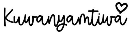 About the baby nameKuwanyamtiwa, at Click Baby Names.com