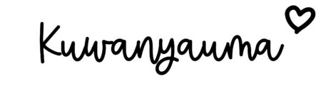 About the baby nameKuwanyauma, at Click Baby Names.com