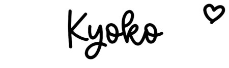 About the baby nameKyoko, at Click Baby Names.com