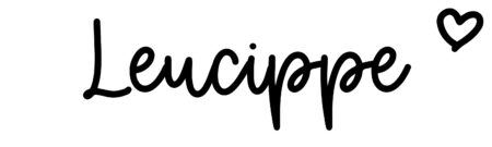 About the baby nameLeucippe, at Click Baby Names.com