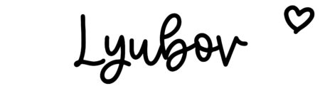 About the baby nameLyubov, at Click Baby Names.com