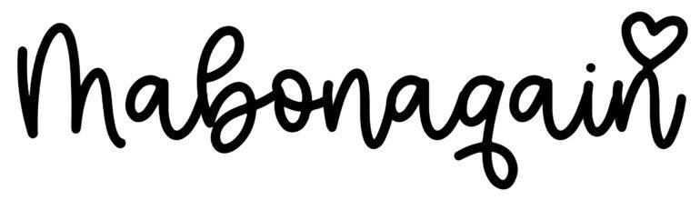 About the baby nameMabonaqain, at Click Baby Names.com