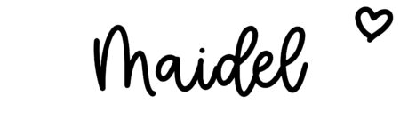 About the baby name Maidel, at Click Baby Names.com