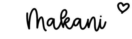 About the baby nameMakani, at Click Baby Names.com