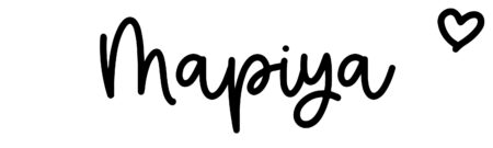 About the baby nameMapiya, at Click Baby Names.com