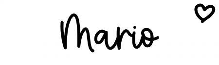 About the baby nameMario, at Click Baby Names.com