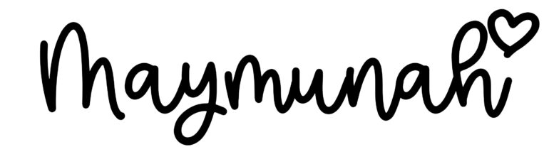 About the baby nameMaymunah, at Click Baby Names.com
