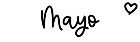 About the baby nameMayo, at Click Baby Names.com