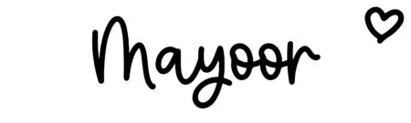 About the baby name Mayoor, at Click Baby Names.com