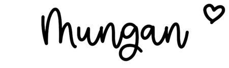About the baby nameMungan, at Click Baby Names.com