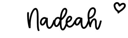 About the baby nameNadeah, at Click Baby Names.com