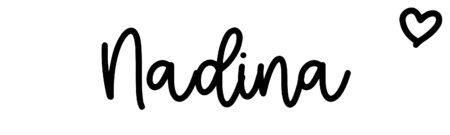 About the baby nameNadina, at Click Baby Names.com