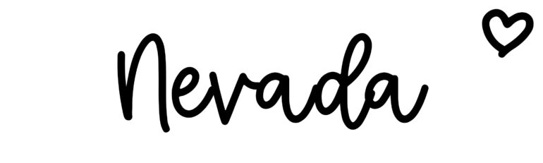 About the baby nameNevada, at Click Baby Names.com