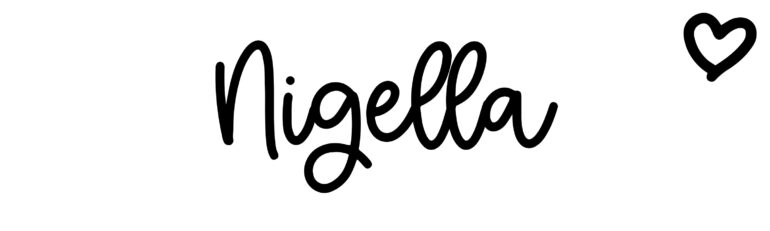 About the baby name Nigella, at Click Baby Names.com