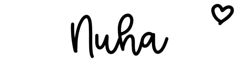 About the baby nameNuha, at Click Baby Names.com