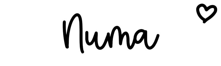 About the baby nameNuma, at Click Baby Names.com