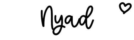 About the baby nameNyad, at Click Baby Names.com