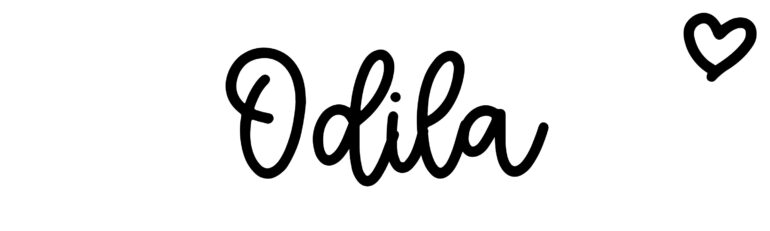 About the baby nameOdila, at Click Baby Names.com
