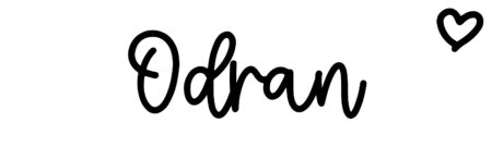 About the baby nameOdran, at Click Baby Names.com