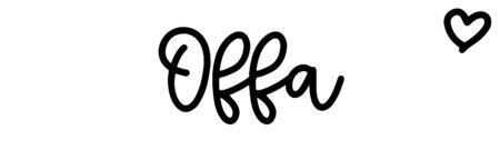About the baby nameOffa, at Click Baby Names.com