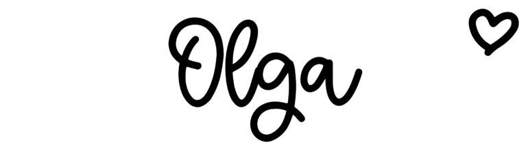 About the baby nameOlga, at Click Baby Names.com