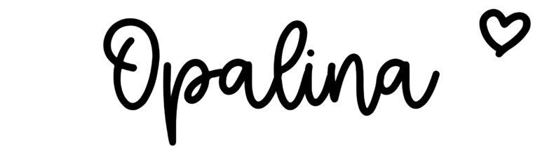 About the baby nameOpalina, at Click Baby Names.com