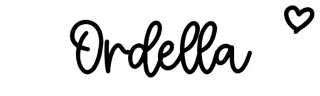 About the baby nameOrdella, at Click Baby Names.com