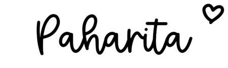 About the baby namePaharita, at Click Baby Names.com