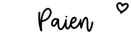 About the baby name Paien, at Click Baby Names.com