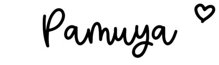 About the baby name Pamuya, at Click Baby Names.com