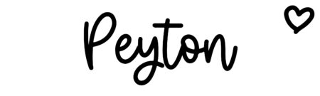 About the baby namePeyton, at Click Baby Names.com
