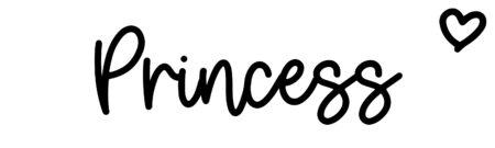 About the baby namePrincess, at Click Baby Names.com