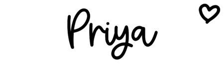 About the baby namePriya, at Click Baby Names.com