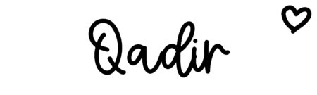 About the baby name Qadir, at Click Baby Names.com