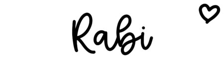 About the baby name Rabi, at Click Baby Names.com