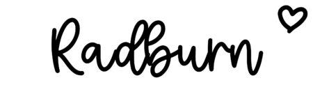 About the baby nameRadburn, at Click Baby Names.com