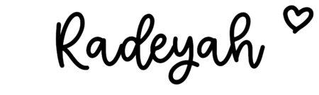 About the baby nameRadeyah, at Click Baby Names.com