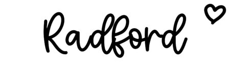 About the baby nameRadford, at Click Baby Names.com