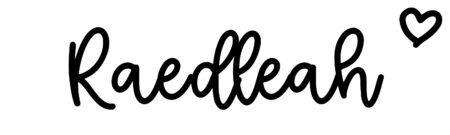 About the baby nameRaedleah, at Click Baby Names.com