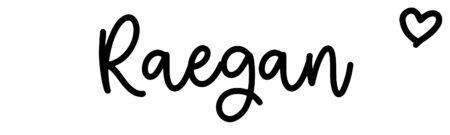 About the baby nameRaegan, at Click Baby Names.com