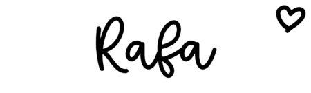 About the baby nameRafa, at Click Baby Names.com