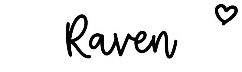 Raven: Name meaning & origin at ClickBabyNames