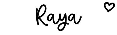 About the baby nameRaya, at Click Baby Names.com
