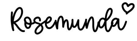 About the baby nameRosemunda, at Click Baby Names.com