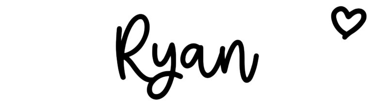 About the baby nameRyan, at Click Baby Names.com