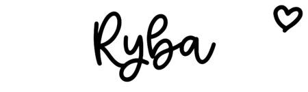 About the baby name Ryba, at Click Baby Names.com