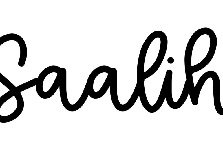 About the baby nameSaalih, at Click Baby Names.com
